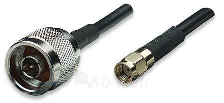 Intellinet Antenna Cable 1.8m (RP-SMA male / N male) Paveikslėlis 1 iš 4 250257100359