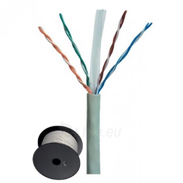Intellinet Cat.6 UTP Bulk Cable, Solid, 23 AWG, 305m, CCA, Grey Paveikslėlis 1 iš 3 250257440069