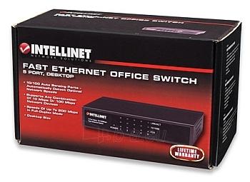 Intellinet komutatorius 5x10/100, metalas, desktop Paveikslėlis 3 iš 3 250257501188