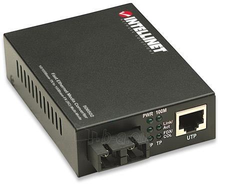 Intellinet Media Converter 10/100Base-TX RJ45 / 100Base-FX (MM SC) 2km 1310nm Paveikslėlis 2 iš 6 250255081564