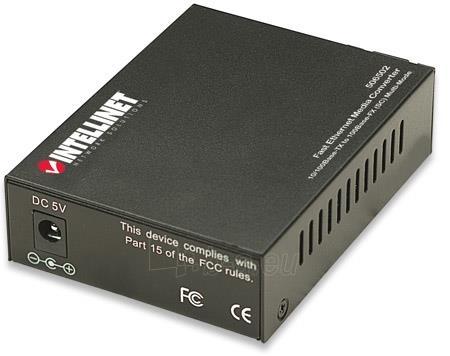 Intellinet Media Converter 10/100Base-TX RJ45 / 100Base-FX (MM SC) 2km 1310nm Paveikslėlis 4 iš 6 250255081564