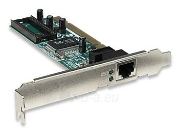Intellinet tinklo plokštė PCI 10/100/1000 Gigabit RJ45 Paveikslėlis 1 iš 2 250255070051