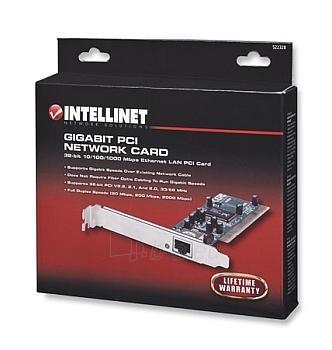 Intellinet tinklo plokštė PCI 10/100/1000 Gigabit RJ45 Paveikslėlis 2 iš 2 250255070051