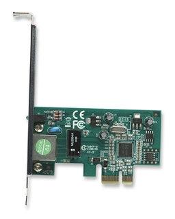 Intellinet tinklo plokštė PCI Express 10/100/1000 Gigabit RJ45 Paveikslėlis 2 iš 3 250255070052