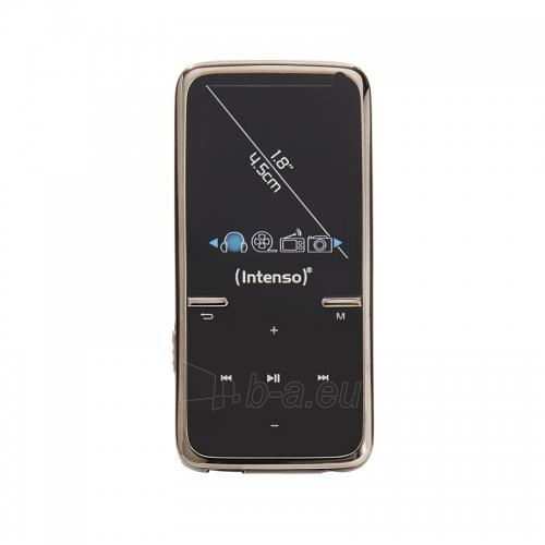 Intenso MP4 player 8GB Video Scooter LCD 1,8'' juodas Paveikslėlis 1 iš 2 250218000380