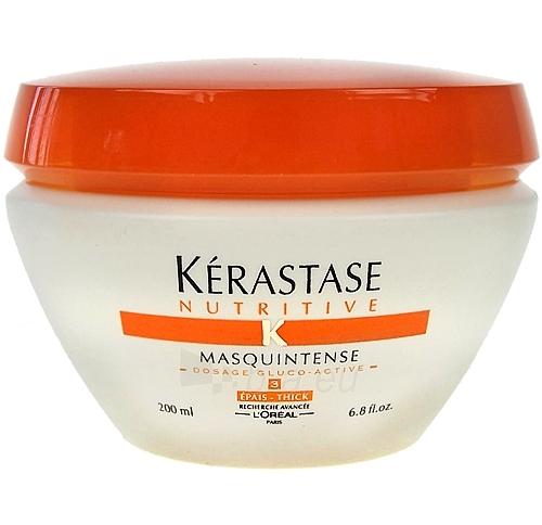 Intensīvā barojoša matu maska Kerastase uzturvielām Masquintense Biezs Cosmetic 200ml (bojāts iepakojums) Paveikslėlis 1 iš 1 2508316000198