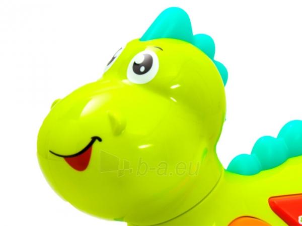 Interaktyvus šviečiantis dinozauras 12 m+ Paveikslėlis 4 iš 7 310820220578
