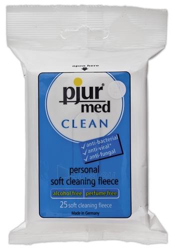 Intymios higienos servetėlės Pjur med Clean Fleece Paveikslėlis 1 iš 2 310820021944