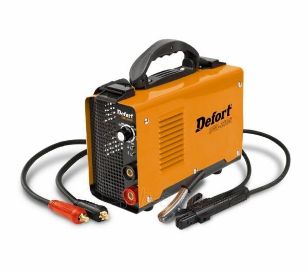 Invert welder DEFORT DWI-200S Paveikslėlis 1 iš 1 225271000290
