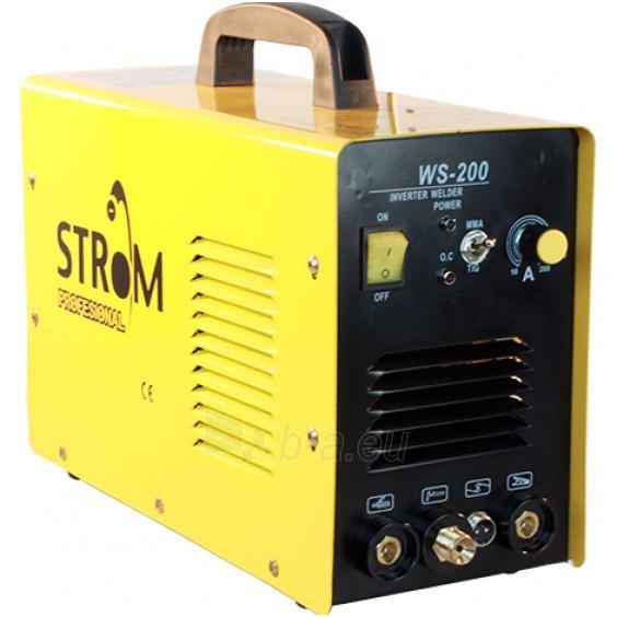 Inverter metināšanas iekārta STROM WS-200 Paveikslėlis 1 iš 1 225271000291