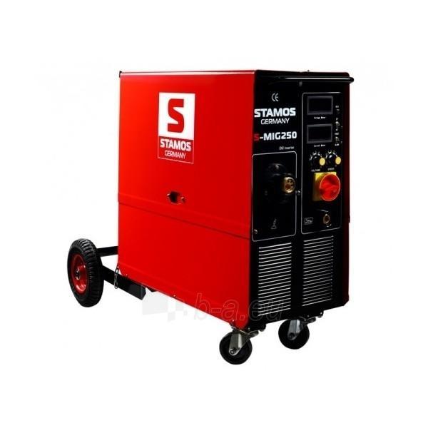Inverter welding semiautomatic STAMOS S-MIG 250 Paveikslėlis 1 iš 5 225271000210