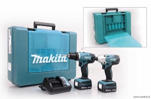 MAKITA DK1497 (DF347D + TD126D) įrankių rinkinys (G) Paveikslėlis 1 iš 1 310820049916