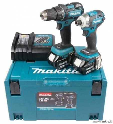 MAKITA DLX2118MJ įrankių rinkinys Paveikslėlis 1 iš 1 310820049904