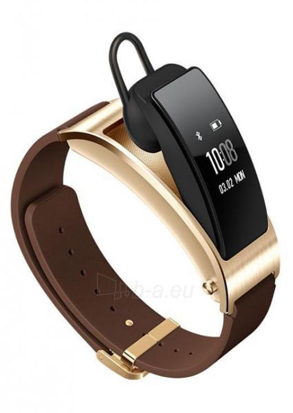 Išmanioji apyrankė HUAWEI Smart Band B3 Sports TPU (Black) Paveikslėlis 1 iš 4 310820046553
