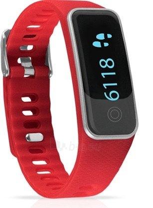 Išmanioji apyrankė Medisana ViFit With Bluetooth Red 79487 Paveikslėlis 2 iš 2 310820205173