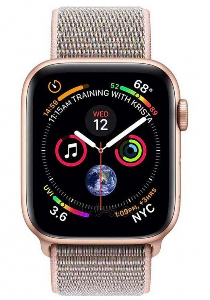 Išmanusis laikrodis Apple Watch Series 4 GPS, 40mm Gold Aluminium Case with Pink Sand Sport Loop Paveikslėlis 2 iš 2 310820171123