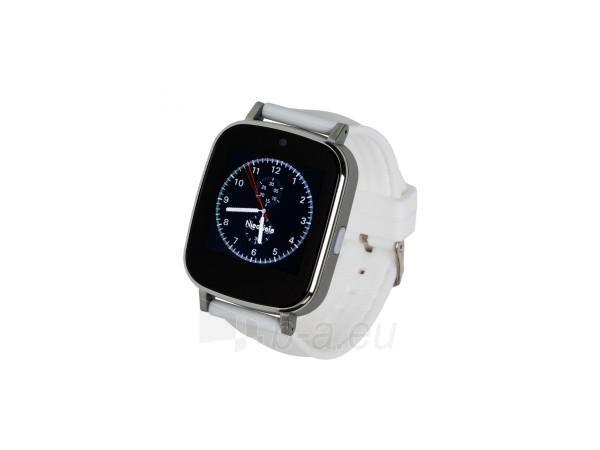 Išmanusis laikrodis Garett G12, biały Paveikslėlis 1 iš 4 310820112784