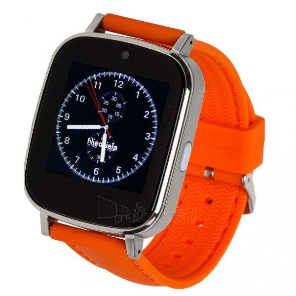 Išmanusis laikrodis Garett G12, pomarańczowy Paveikslėlis 1 iš 4 310820112772