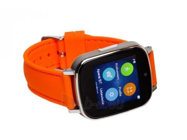 Išmanusis laikrodis Garett G12, pomarańczowy Paveikslėlis 2 iš 4 310820112772