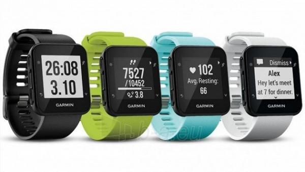Išmanusis laikrodis Garmin Forerunner 35 Optic fitness GPS Paveikslėlis 2 iš 2 310820117330