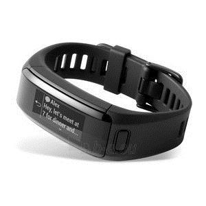 Išmanusis laikrodis Garmin Vivosmart HR ELEVATE (BLACK, Regular) Paveikslėlis 2 iš 2 310820042309