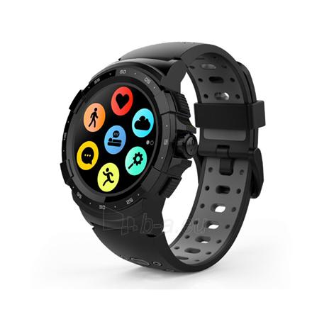 Išmanusis laikrodis MyKronoz Zesport 2 460 mAh, Smartwatch, Touchscreen, Bluetooth, Heart rate monitor, Black/Grey, GPS (satellite), Paveikslėlis 1 iš 1 310820162610