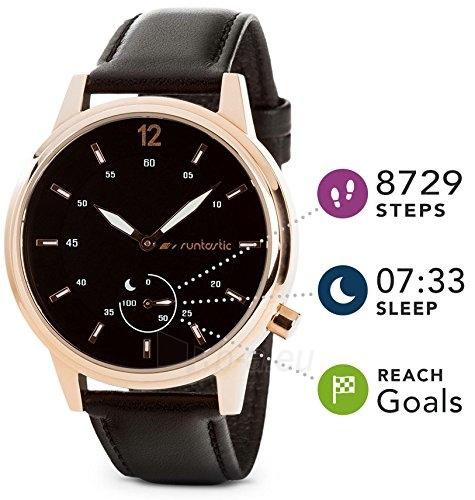 Išmanusis laikrodis Runtastic Moment Classic gold Paveikslėlis 2 iš 3 310820153749