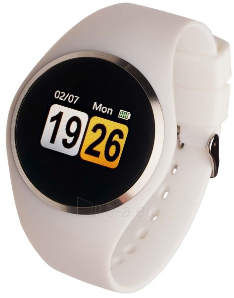Išmanusis laikrodis Smartwatch, Garett Woman Ida bialy Paveikslėlis 1 iš 3 310820171127
