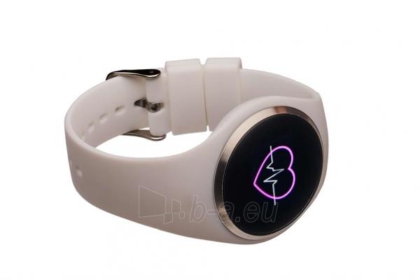 Išmanusis laikrodis Smartwatch, Garett Woman Ida bialy Paveikslėlis 2 iš 3 310820171127