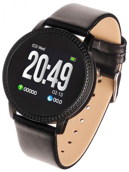 Išmanusis laikrodis Smartwatch, Garett Woman Klara czarny Paveikslėlis 1 iš 3 310820171141