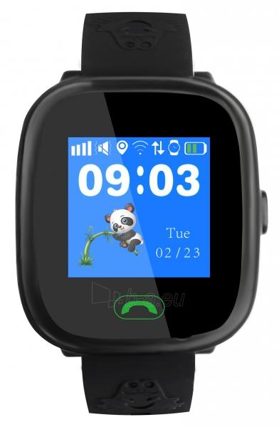 Išmanusis laikrodis Sponge See 2 black Paveikslėlis 1 iš 2 310820200686