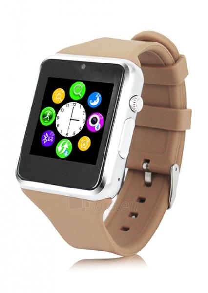 Išmanusis laikrodis ZGPAX Smart Watch S79 (Brown Silver) Paveikslėlis 1 iš 1 310820014552