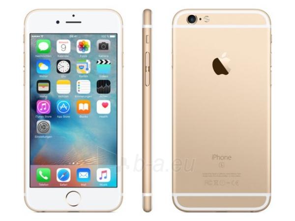 Smart phone Apple iPhone 6s 64GB MKQQ2ET/A zelts - gold Paveikslėlis 1 iš 1 310820012135
