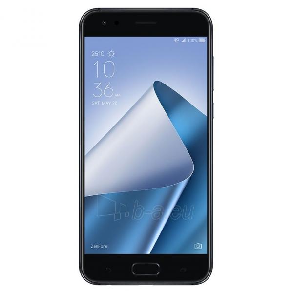 Išmanusis telefonas Asus Zenfone 4 ZE554KL 64GB black Paveikslėlis 1 iš 4 310820155325