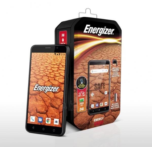 Išmanusis telefonas Energizer Energy E500 Dual black Paveikslėlis 1 iš 10 310820161829