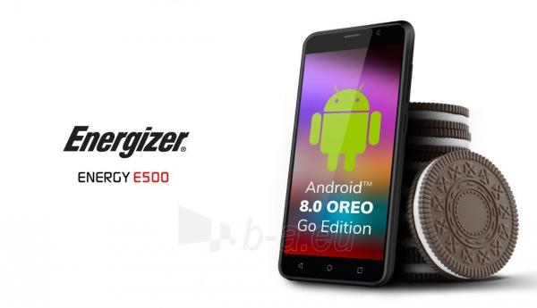 Išmanusis telefonas Energizer Energy E500 Dual black Paveikslėlis 6 iš 10 310820161829