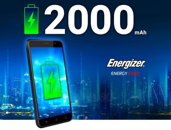 Išmanusis telefonas Energizer Energy E500 Dual black Paveikslėlis 5 iš 10 310820161829