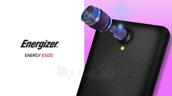 Išmanusis telefonas Energizer Energy E500 Dual black Paveikslėlis 4 iš 10 310820161829