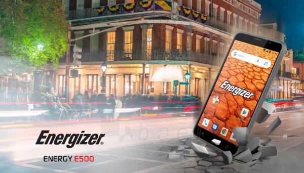 Išmanusis telefonas Energizer Energy E500 Dual black Paveikslėlis 3 iš 10 310820161829
