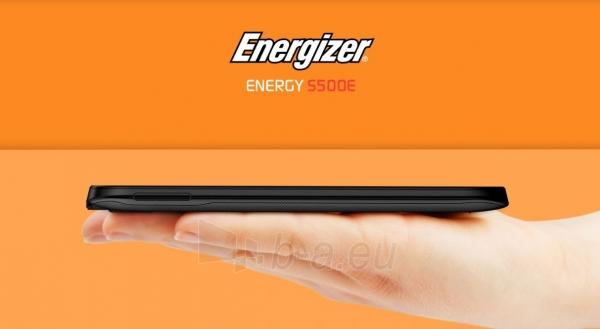 Išmanusis telefonas Energizer Energy S500E Dual black Paveikslėlis 5 iš 5 310820161835