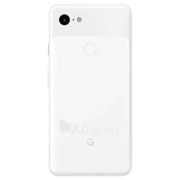Išmanusis telefonas Google Pixel 3 XL 64GB clearly white Paveikslėlis 2 iš 3 310820175197