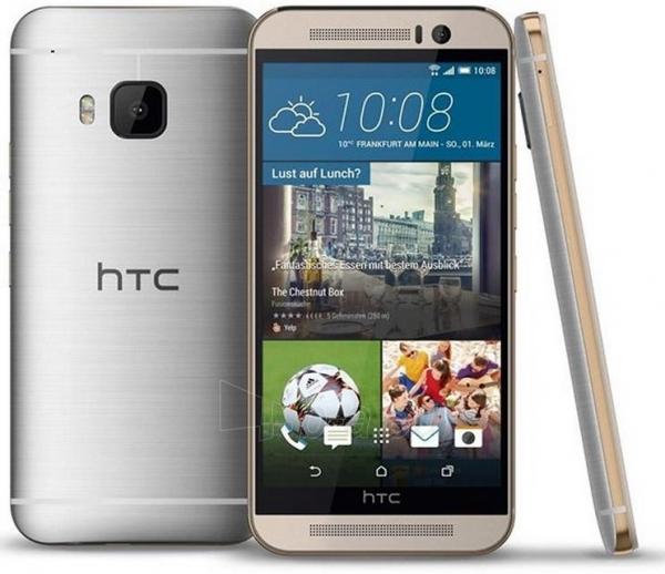 Išmanusis telefonas HTC One M9 Silver/Gold Paveikslėlis 1 iš 1 250231002760