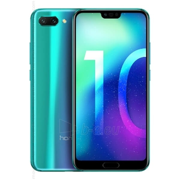 Išmanusis telefonas Huawei Honor 10 Dual 64GB green Paveikslėlis 2 iš 3 310820180931