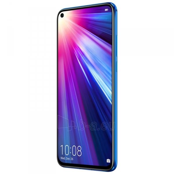 Išmanusis telefonas Huawei Honor View 20 Dual 128GB sapphire blue (PCT-L29) Paveikslėlis 2 iš 4 310820180947