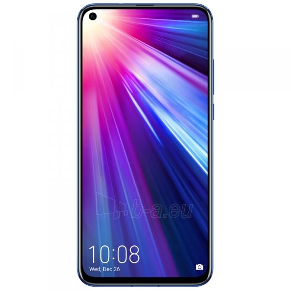 Išmanusis telefonas Huawei Honor View 20 Dual 128GB sapphire blue (PCT-L29) Paveikslėlis 4 iš 4 310820180947