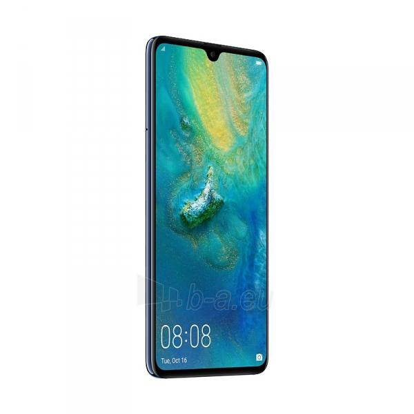 Išmanusis telefonas Huawei Mate 20 128GB blue (HMA-L09) Paveikslėlis 2 iš 6 310820168542
