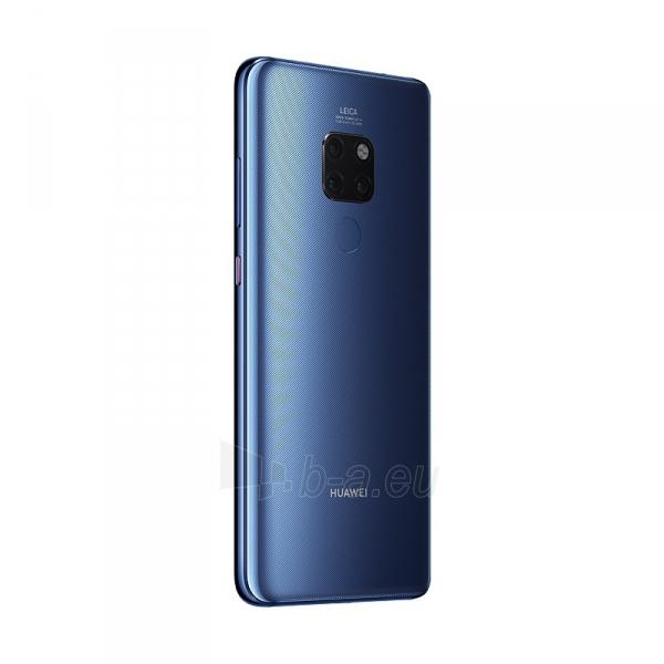Išmanusis telefonas Huawei Mate 20 128GB blue (HMA-L09) Paveikslėlis 6 iš 6 310820168542