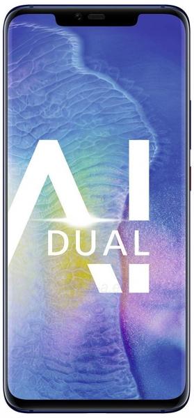 Išmanusis telefonas Huawei Mate 20 Pro 128GB midnight blue (LYA-L09) Paveikslėlis 1 iš 3 310820175200