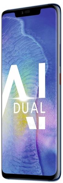 Išmanusis telefonas Huawei Mate 20 Pro 128GB midnight blue (LYA-L09) Paveikslėlis 2 iš 3 310820175200