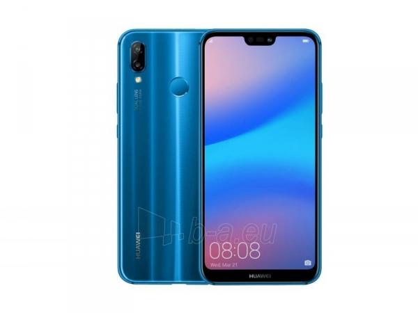 Išmanusis telefonas Huawei P20 Lite Dual 64GB klein blue (ANE-LX1) Paveikslėlis 2 iš 3 310820155072